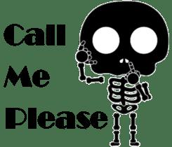 Bone San's ordinary life 01 Eng Ver. sticker #14192249