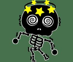 Bone San's ordinary life 01 Eng Ver. sticker #14192260