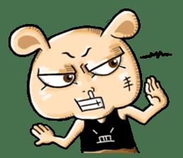 Go Bad Bear & Gangster Friends sticker #14192698