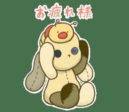 Everyday life of fluffys sticker #14198545