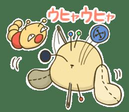 Everyday life of fluffys sticker #14198556