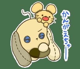Everyday life of fluffys sticker #14198560