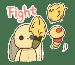Everyday life of fluffys sticker #14198561