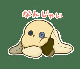 Everyday life of fluffys sticker #14198576