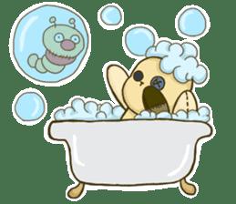 Everyday life of fluffys sticker #14198580