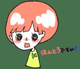 Cute Keigo girls sticker #14198895