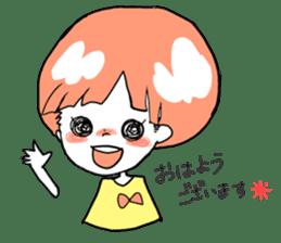 Cute Keigo girls sticker #14198896
