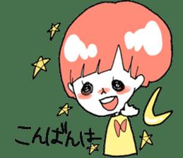 Cute Keigo girls sticker #14198898