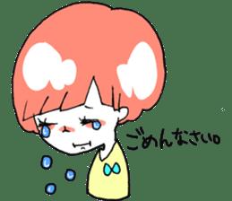 Cute Keigo girls sticker #14198900