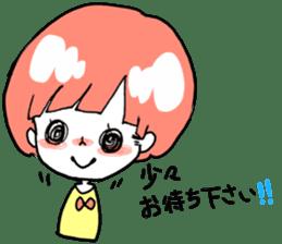 Cute Keigo girls sticker #14198902