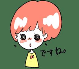 Cute Keigo girls sticker #14198907