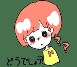 Cute Keigo girls sticker #14198910