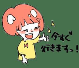 Cute Keigo girls sticker #14198912