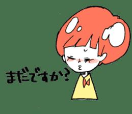 Cute Keigo girls sticker #14198915