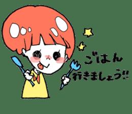 Cute Keigo girls sticker #14198917