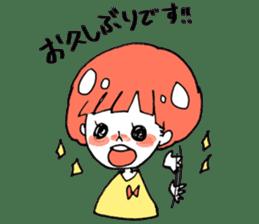Cute Keigo girls sticker #14198920