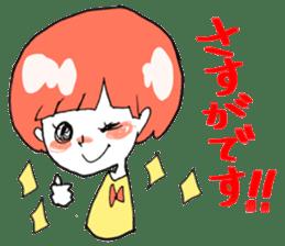 Cute Keigo girls sticker #14198924