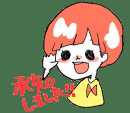 Cute Keigo girls sticker #14198925