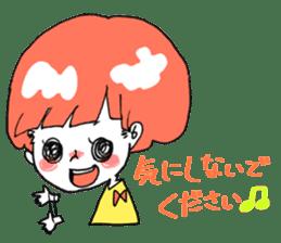 Cute Keigo girls sticker #14198930