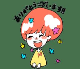 Cute Keigo girls sticker #14198931