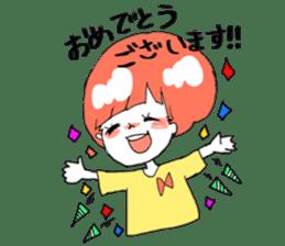 Cute Keigo girls sticker #14198932