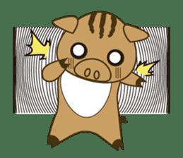 Woolly 1 day (part 2) sticker #14199033