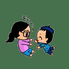 Active child'mother sticker #14199801