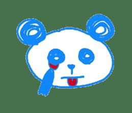 Panda like panda sticker #14199949