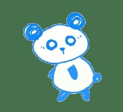 Panda like panda sticker #14199951