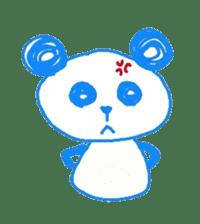 Panda like panda sticker #14199953
