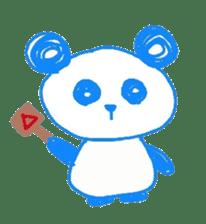 Panda like panda sticker #14199955