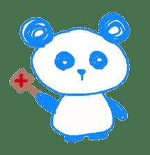 Panda like panda sticker #14199956