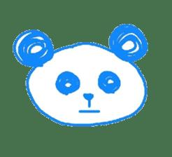 Panda like panda sticker #14199957