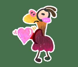 Mr. Ostrich sticker #14200266