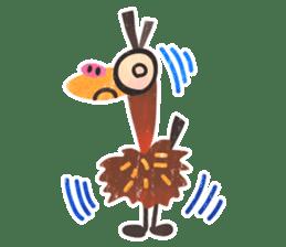 Mr. Ostrich sticker #14200267