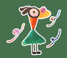 Mr. Ostrich sticker #14200271