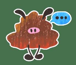 Mr. Ostrich sticker #14200274