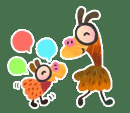 Mr. Ostrich sticker #14200275