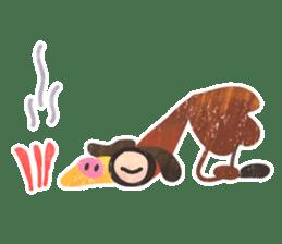 Mr. Ostrich sticker #14200276