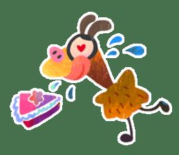 Mr. Ostrich sticker #14200290