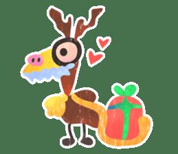 Mr. Ostrich sticker #14200291