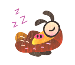Mr. Ostrich sticker #14200293