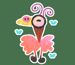 Mr. Ostrich sticker #14200295