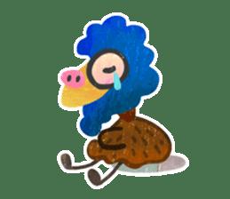 Mr. Ostrich sticker #14200297