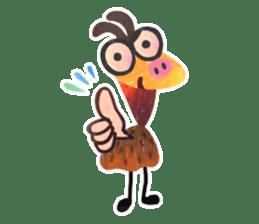 Mr. Ostrich sticker #14200300