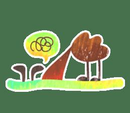 Mr. Ostrich sticker #14200301