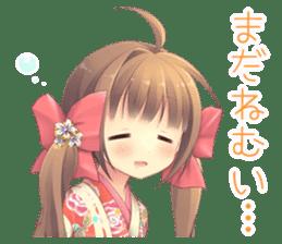 New Year Anime Alarm Kanon sticker #14203100