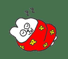 Hodor the bunny sticker #14204293