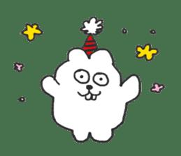 Hodor the bunny sticker #14204295