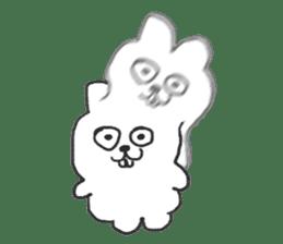 Hodor the bunny sticker #14204303